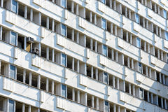 Byggnad i Petržalka, Bratislava, Slovakien Fotografering för Bildbyråer