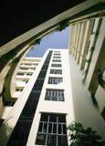 Byggnad i stad Royaltyfria Bilder