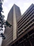 Byggnad i stadens centrum Bogota royaltyfria foton