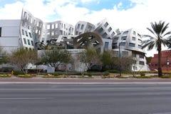 Byggnad i i stadens centrum Las Vegas arkivfoton