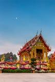 Byggnad i templet för Tamma pannaya, Thailand Royaltyfri Bild