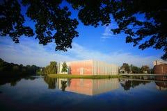 Byggnad i universitet av Groningen Fotografering för Bildbyråer