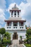 Byggnad i Wat Arun Arkivbilder