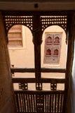 Byggnad i Yemen royaltyfri bild