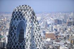 byggnad japan moderna tokyo Royaltyfria Foton
