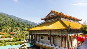 Byggnad Kek Lok Si Temple royaltyfri foto