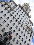 byggnad madrid arkivfoton