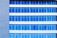 Byggnad med rena Windows Arkivbilder