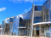 byggnad moderna christchurch Arkivfoto