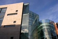 byggnad moderna dublin Royaltyfri Foto