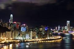 byggnad moderna Hong Kong Royaltyfria Bilder