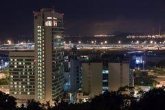 byggnad moderna Hong Kong Arkivfoto