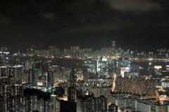 byggnad moderna Hong Kong Arkivbilder