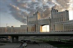 byggnad moderna kazakhstan Royaltyfria Foton