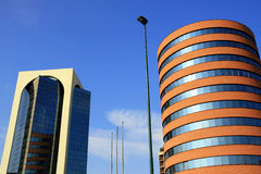 byggnad moderna milan Royaltyfri Foto