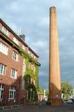 Byggnad och lampglas i den Potsdam Tyskland Royaltyfri Bild