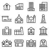 Byggnad och Real Estate Royaltyfri Fotografi