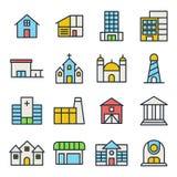 Byggnad och Real Estate Arkivbild