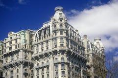 Byggnad på övrewestsiden, New York City, NY Arkivbilder