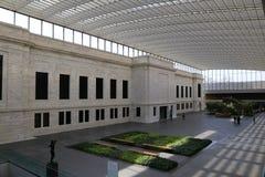 Byggnad 1916 på Cleveland Museum av konst Arkivfoto