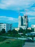 Byggnad på den höga djungeln Royaltyfria Foton