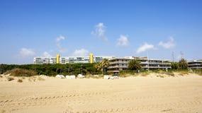 Byggnad på stranden Royaltyfri Bild