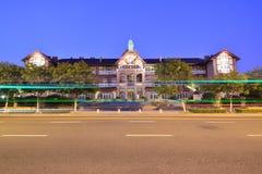 Byggnad Qingdao Arkivbilder