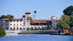 Byggnad runt om Tampa Bay Royaltyfri Fotografi