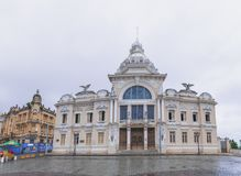 Byggnad Salvador - Brasilien royaltyfria bilder