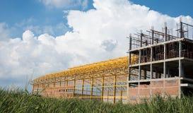 Byggnad under konstruktion Arkivbilder