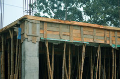 Byggnad under konstruktion Arkivbild