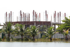 Byggnad under konstruktion Royaltyfria Foton