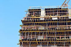 Byggnad under konstruktion Royaltyfria Bilder