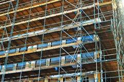 Byggnad under konstruktion, i Amsterdam, Nederländerna, Europa fotografering för bildbyråer