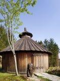 byggnad viking Royaltyfri Fotografi