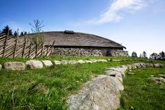 byggnad viking Royaltyfri Foto
