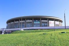 Byggnaden av de komplexa sportarna Fotografering för Bildbyråer