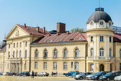 Byggnaden av den bulgariska akademin av vetenskaper royaltyfri fotografi
