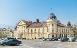 Byggnaden av den bulgariska akademin av vetenskaper arkivfoto