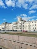 Byggnaden av den maritima akademin royaltyfri foto