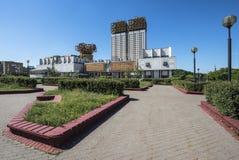 Byggnaden av den ryska akademin av vetenskaper royaltyfri fotografi