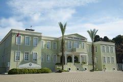 Byggnaden av högskolan i Izmir, Turkiet Royaltyfria Bilder