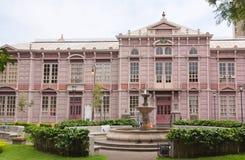 Byggnaden av institutionen för forskarutbildning i San Jose Royaltyfria Foton