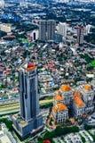 Byggnaden av Kuala Lumpur Arkivbild
