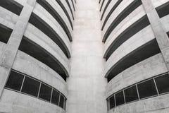 Byggnaden av parkering Royaltyfri Bild