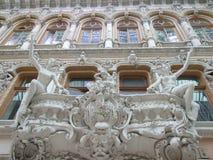Byggnaden av passagen i Odessa Royaltyfri Fotografi