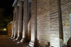 Byggnaden av vinodlingen Abrau Durso Royaltyfri Bild