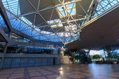 Byggnaden av World Trade Center Portland, landskap av i stadens centrum Portland Arkivfoto