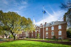 Byggnaden för Delaware statKapitolium i Dover, Delaware Arkivbilder