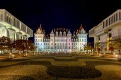 Byggnaden för Kapitolium för New York stat Royaltyfria Bilder